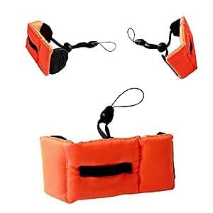 PANMARI GOPRO3 3+ caméra plongée Wrist Band caméra flottant bracelet anti-sédimentation Accessoires Anti-Perdu eau flottante Dragonne Gopro