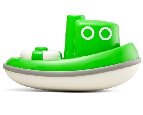 Kid O 1710362 - Schleppboot aus ABS-Kunststoff, grün
