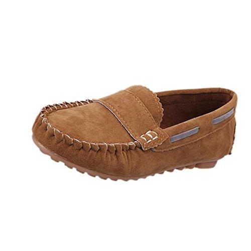 Chaussures femme, Kolylong Mocassins femme daim - Ballerines Loafers confort - Chaussures bateau & de ville