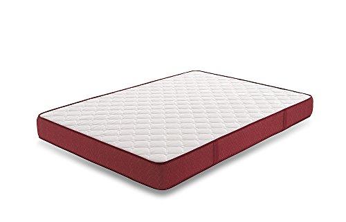 Colchón Viscoelástico Viscoplus Doble Capa Reversible Tejido Air Fresh 3D, 90X180 y Espesor 15 cm