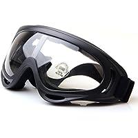 Worldshopping4U Tactical UV400viento Polvo Kite Surfing Jet Ski Gafas de protección ocular Gafas Airsoft, Paintball Caza Transparente transparente