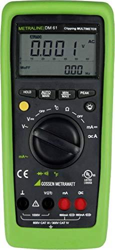 Gossen Metrawatt METRALINE DM 61 Hand-Multimeter digital CAT III 600 V, CAT IV 300V Anzeige (Counts)