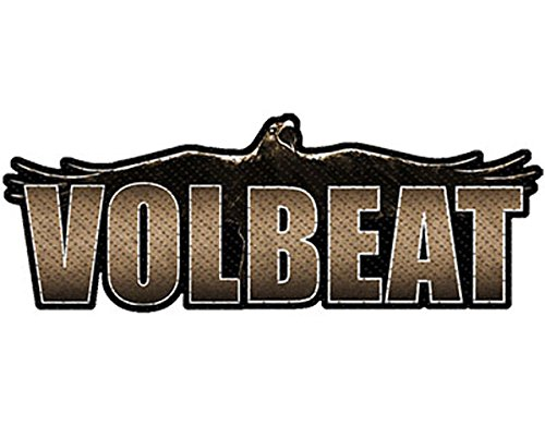 Volbeat Raven Logo Cut Out Aufnäher/ Patch