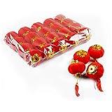 PillowCry Chinesische kleine rote Laternen, traditionelle Laternen, Feiern Party, 20 Stück