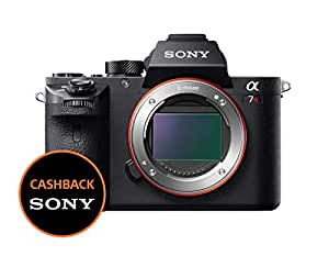 Sony Alpha 7MR2 Fotocamera Digitale Mirrorless Full-Frame con Obiettivo Intercambiabile, Sensore CMOS Exmor Full-Frame da 42.4 MP, Stabilizzazione Integrata a 5 Assi, Nero