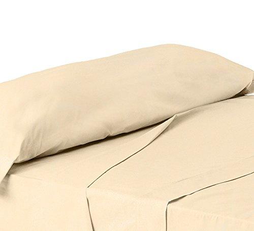 ForenTex - Juego de sábanas de 3 piezas, (X-4002), Kaqui, cama 150...