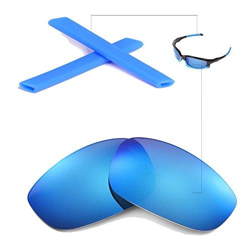 walleva-polarized-ice-blue-lenses-and-blue-earsocks-for-oakley-split-jacket