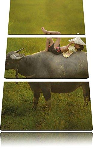 120x80-immagine-su-tela-bufali-dacqua-sopporta-bambino-3-divisore-immagine-della-tela-di-canapa-xxl-