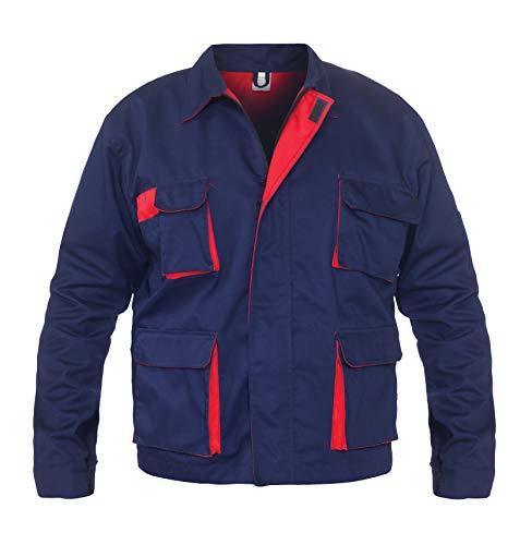 DINOZAVR Sigma Herren Arbeitskleidung Multifunktionale Arbeitsjacke Bundjacke - Hydronblau S