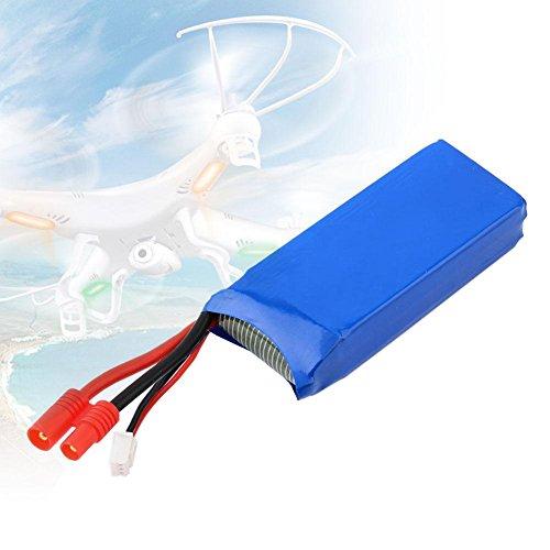 Mondpalast @ 2x Lipo Batterie Ersatz Akku 7,4V 2000mAh für RC Quadcopter Syma X8C X8W X8G Drone - 6
