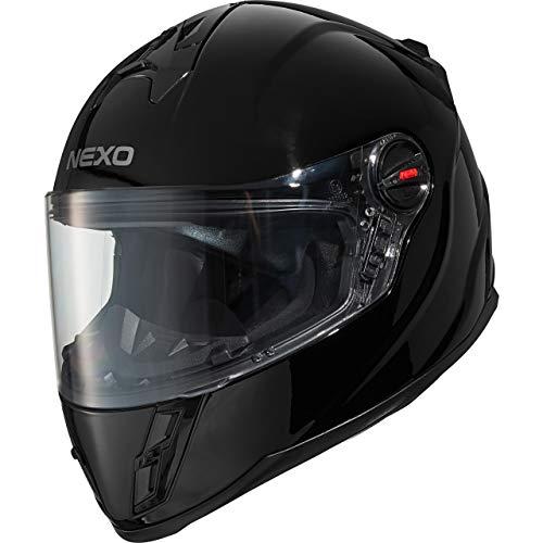 Nexo Motorradhelm, Vollvisierhelm, Integralhelm Junior III 2.0, Kinder-Motorradhelm für Jungen und...