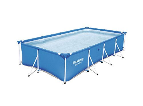 Bestway 56405 - Piscina Desmontable Tubular Infantil Bestway Family Splash Frame Pool (400 x 211 x 81 cm) Capacidad: 5.700 litros