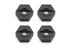 Team Associated FT Molded Carbon Wheel Hex Adapters