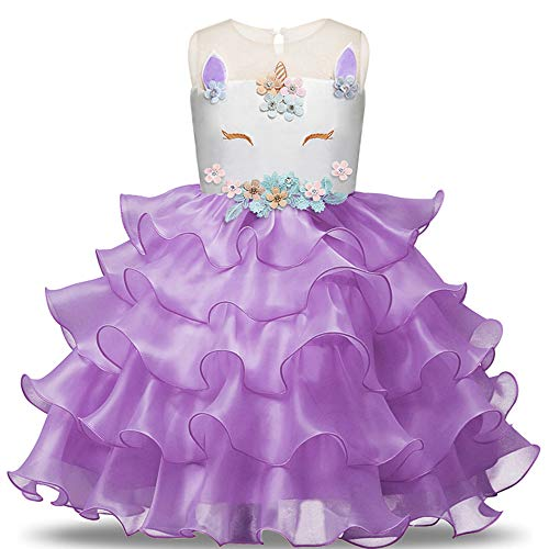 eid 3-4years Purple 110 cm ()