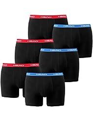 HEAD Herren Boxer Boxershort Unterhose 6er Pack in vielen Farben