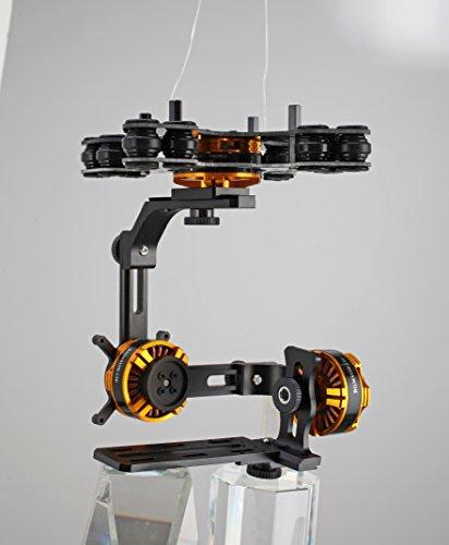Preisvergleich Produktbild Brushless 3 Achsen Gimbal für Sony Nex inkl. 3x BGM4108 Gimbal Motoren