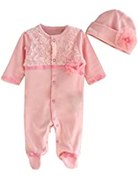 POLP Bebé Monos (◉ω◉) Recién Nacido Bebé Unisex Carta Impresión Camiseta Monos Unisex Conjuntos para,Niña Niño 0—9meses…