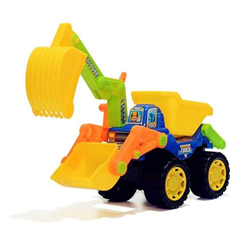 LJSHU Kinder-Excavator Inertia Manual Adjustment Three-In-One Engineering Vehicle Kid ' S Play Equipment