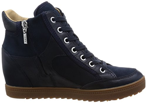 Sport scarpe per le donne, colore Marrone , marca GEOX, modello Sport Scarpe Per Le Donne GEOX D AMARAN.H.B Marrone Navy