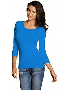 Babell - Camiseta de manga larga - para mujer