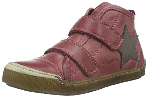 Bisgaard 40704216, Baskets Hautes Mixte Enfant Rose (4000 pink)