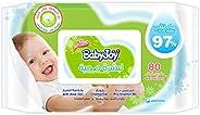 BabyJoy Healthy Skin, 80 Wet Wipes