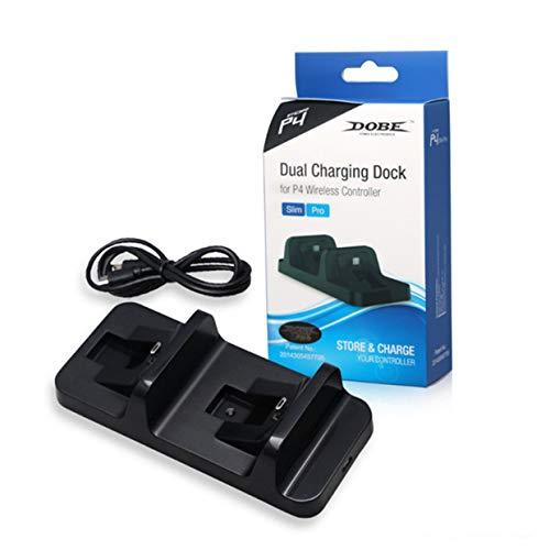 Accessori di gioco MXECO per dock di ricarica doppia per controller wireless PS4 Playstation 4