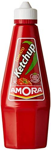Amora Ketchup Nature 575g - Lot de 3