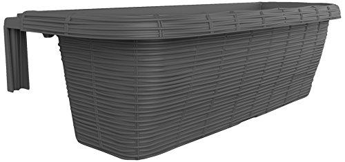 Bama Fioriera Rondine Paglia, 60x20x18.5 cm