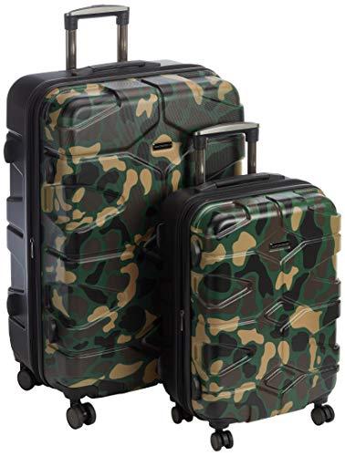 HAUPTSTADTKOFFER - X-Kölln - Set 2 Bagagli Rigidi espandibile, valigie cabina e grande (S & L), Camuffamento