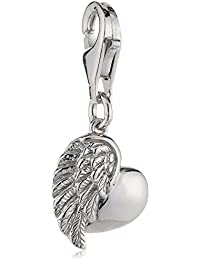 Engelsrufer Charm Herzflügel Silber