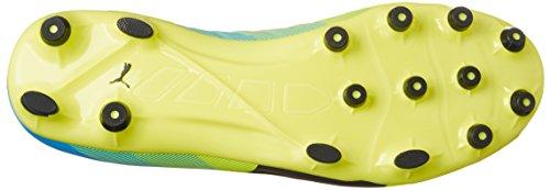 Puma - Evopower 2.3 Ag, Scarpe da calcio Uomo Giallo (Gelb (safety yellow-black-atomic blue 01))