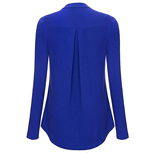 Lunga Maglia Closhion Manica Blue Donna A tgn8wq41