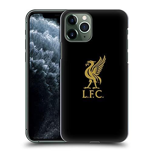 Head Case Designs Offizielle Liverpool Football Club Logo Gold Und Schwarz Liver Bird Harte Rueckseiten Huelle kompatibel mit iPhone 11 Pro