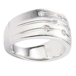 Fossil Damen-Ring 925 Sterling Silber Gr. 18  JF15789040