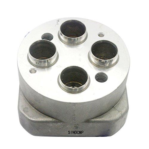 Pusher Kopf (sinocmp 9233096Pusher Head Control Valve Block für Hitachi zax200zax450zax600zax160lc Pusher Griff Steuerventil, 1Jahr Garantie)