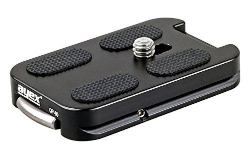 Ayex QP-60 Adapterplatte für Arca-Swiss Standard Schnellwechselplatte