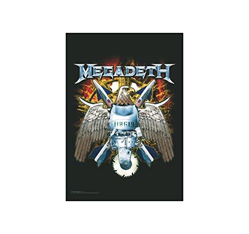 Megadeth Flagge - Eagle - Megadeth Posterflagge - Megadeth Textilflagge (Flagge Pantera)