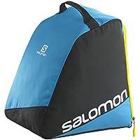 Salomon Original Bootbag Boots Bag, Unisex Adulto, Negro/Azul, 39 cm