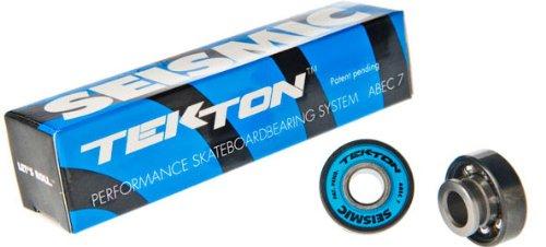 Seismic Tekton ABEC 7 Skateboard Bearings ~ World Record Speed! by Seismic Wheels