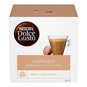Nescafé Dolce Gusto Cortado Espresso Macchiato Caffè, 16 Capsule (16 Tazze)
