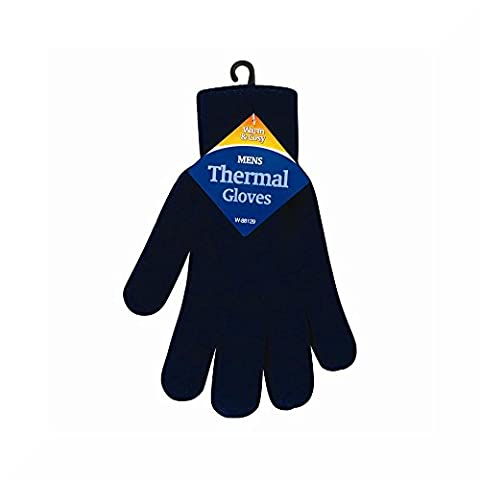 Mens Thermal Gloves (Blue)