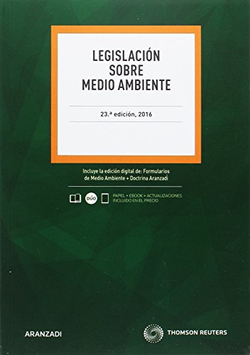 Legislación sobre Medio Ambiente ( 23 ed. - 2016) (Código Profesional)