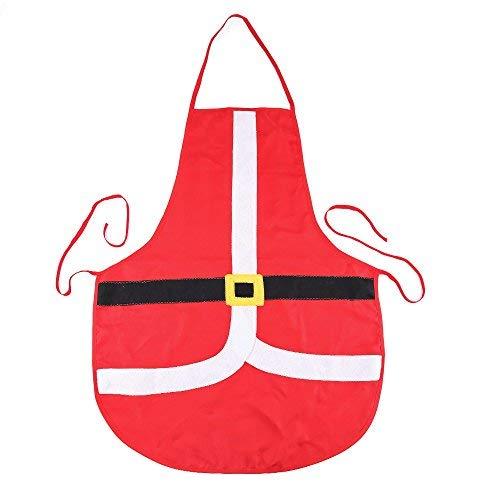 Kostüm Claus Herr - Yundxi Weihnachtsschürze Weihnachten Kochschürze Damen Herren Schürze Küchenschürze Erwachsene Xmas Kostüm Santa Claus Party Dekoration Geschenke