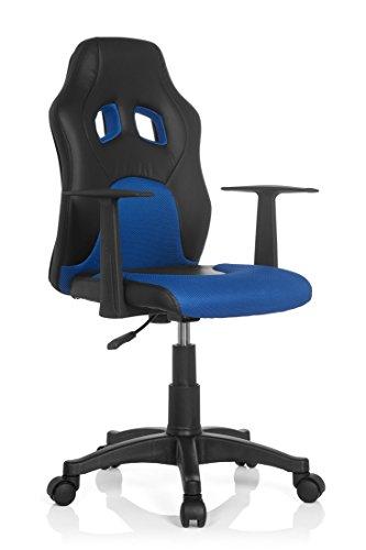 hjh OFFICE Kinderschreibtischstuhl Teen Racer AL (blau)