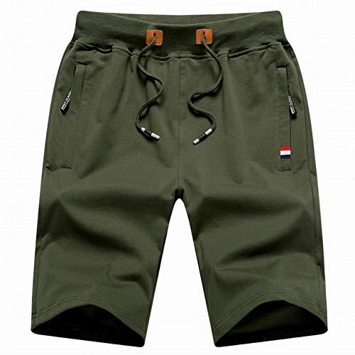 Ozon Bib (CHLCH Herren Sport Shorts Jogginghose KordelzugHerren Freizeitshorts Grün 5XL)