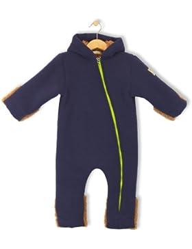 bubble.kid berlin - Unisex Baby Winter Overall, Fleece-Overall ANU - Tec-Doublefleece tinte