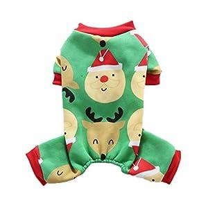 Pull Chien Angelof NoëL Benetton 4 Pattes Pour Pull Vetement Chien Costume De Chien De Chat De VêTements D'Animal Familier