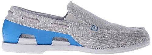 Crocs Retro, Sabots mixte enfant Light Grey/Ultramarine