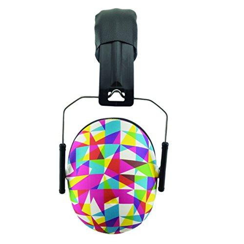 BANZ KIDZ EAR DEFENDERS, casques oreillères de protection acoustique pour enfants de 2 ans et plus. ( Geo )